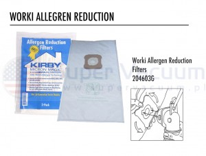 Kirby  worki Allergen Reduktion 6szt