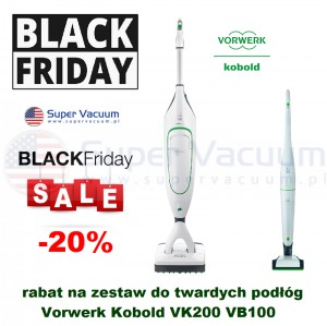 BLACK FRIDAY  Vorwerk Kobold VK200 &VB100  -20%