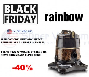 BLACK FRIDAY  Wymiana starego Rainbow rabat do -40%